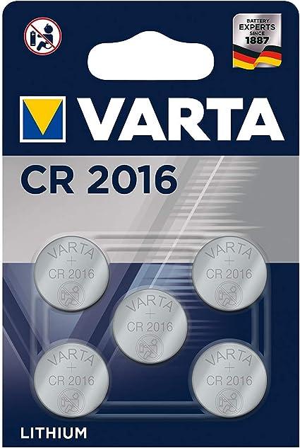 5er Blister Varta 3v Lithium Knopfzelle Cr 2016 Elektronik