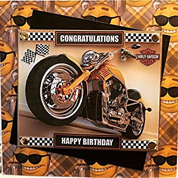 Large luxury handmade 3d personalised birthday card biker harley large luxury handmade 3d personalised birthday card biker harley davidson motorcycle friend dad bookmarktalkfo Image collections