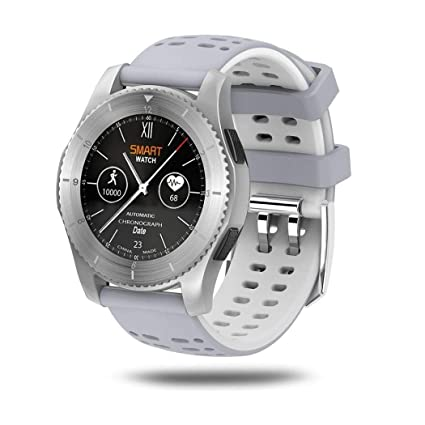 Amazon.com: LXJTT Mart Watch Round IPS Touch Screen ...