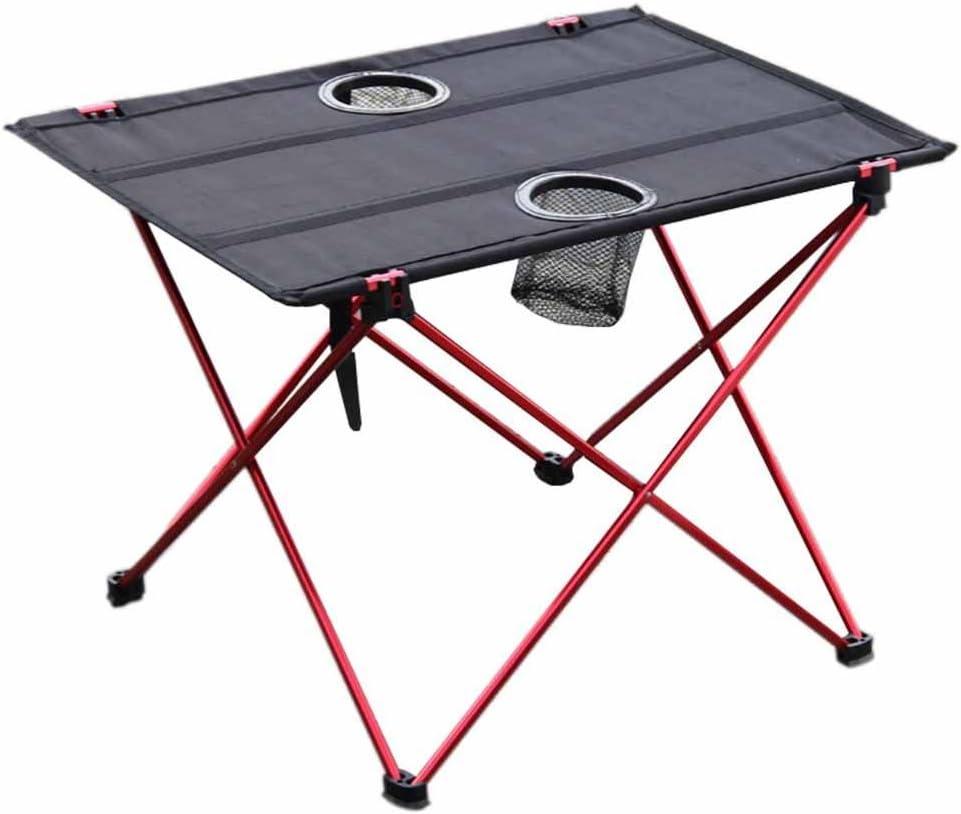 Mesa plegable de picnic para camping, portátil, compacta, ligera ...