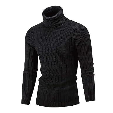 Épais Sweater Sweatshirt Veste Capuche Hiver À Homme Pullover Gilet Tricot Col Chaud En Pull Roulé Hoodie v8wNmn0