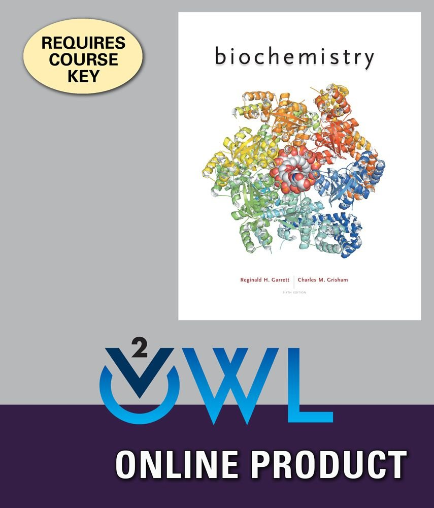 Amazon.com: OWLv2 with Student Solutions Manual for Garrett/Grisham's  Biochemistry Technology Update, 6th Edition: Courses