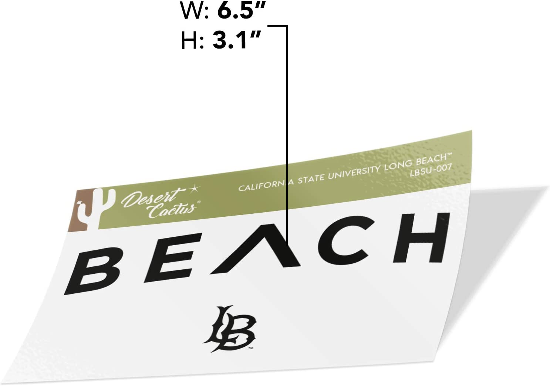 Sticker - 007 California Cal State University Long Beach CSULB 49ers Dirtbags NCAA Vinyl Decal Laptop Water Bottle Car Scrapbook