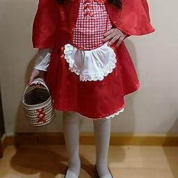 Amscan - 999 708 - Caperucita Roja Disfraz - 4-6 Años: Amazon.es ...