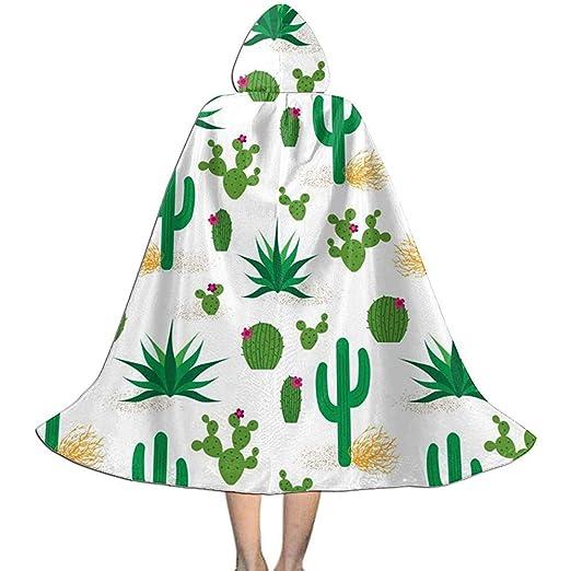 KDU Fashion Capa De Bruja,Desierto Cactus Patrón Niños Capucha ...