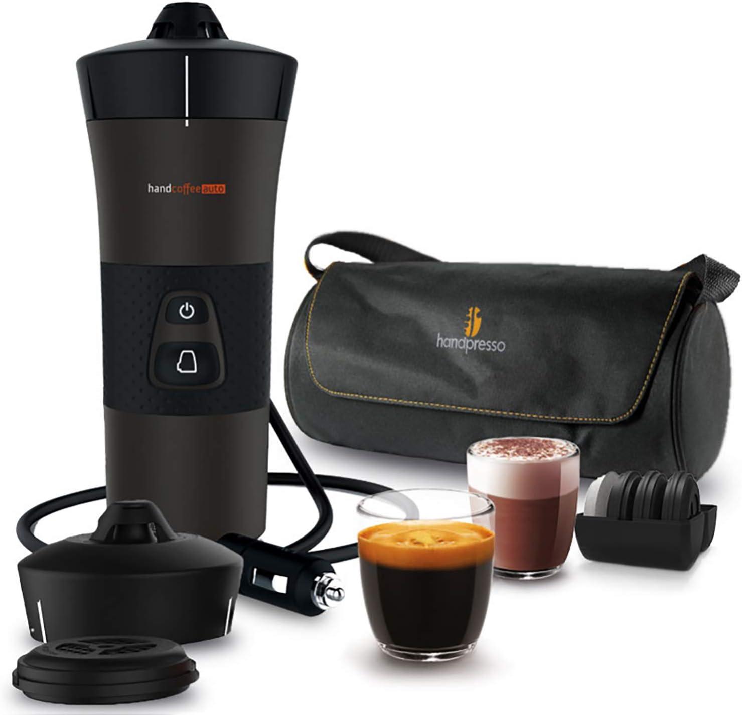Handespresso – Handcoffee Auto Travel Pack 48312A Set con la ...