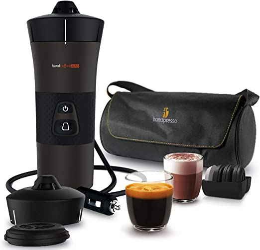 Handespresso – Handcoffee Auto Travel Pack 48312A Set con la ...