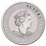 2020 AU 1 oz Silver Australian Kangaroo Coin $1