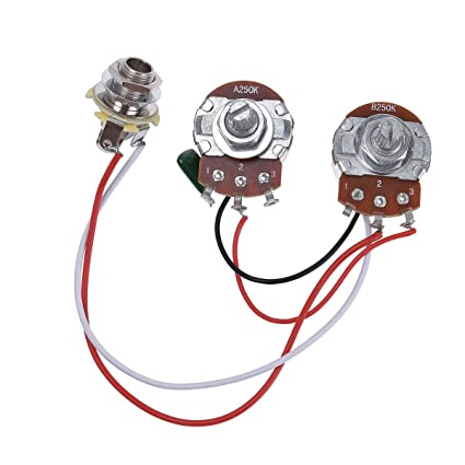 amazon com bass wiring harness prewired kit for precision bass rh amazon com PRS Wiring Harness Telelcaster Wiring Harness