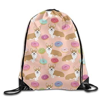 Turnbeutel Tasche Beutel Rucksack Damenrucksack Donut