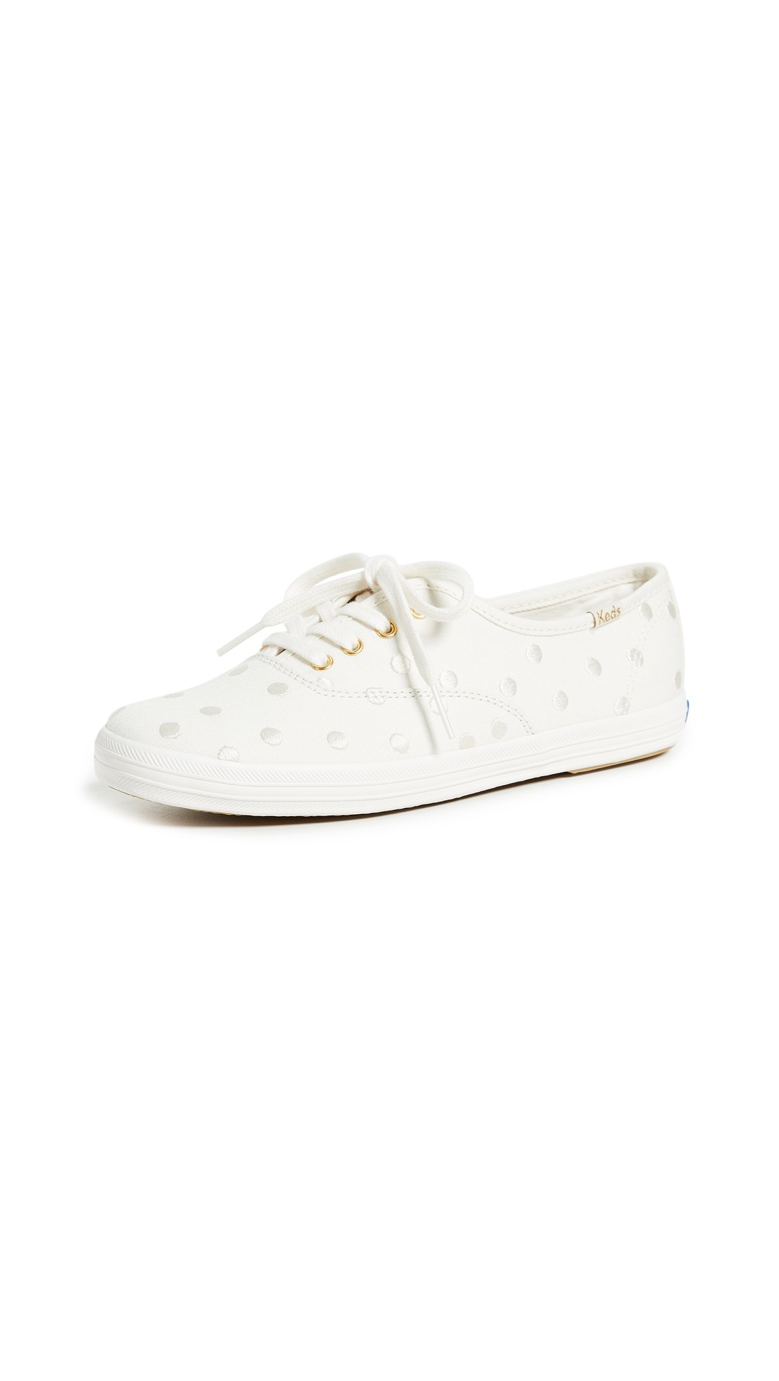 6fcde94bd61e5 Galleon - Keds Women s X Kate Spade New York Dancing Dot Champion Sneakers