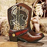Fans - ''Wild West'' Cowboy Boot Fan - Single Speed Electric Table Fan