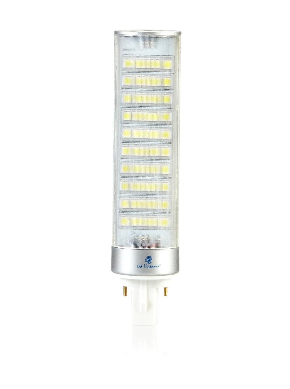Hispania PLC (LED G24) 10W de consumo | 720 lumens, luz fría 6000K: Amazon.es: Iluminación