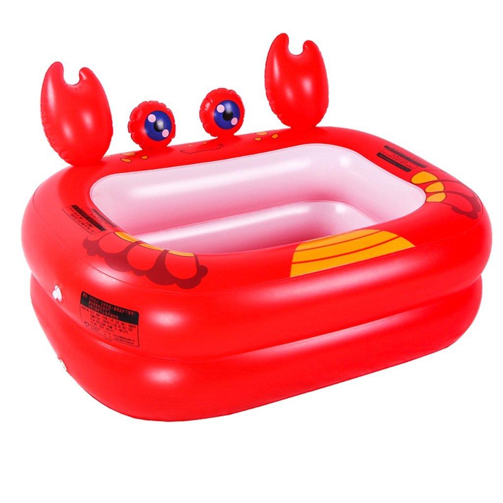 JPYG Inflatable Bathtub,Baby Swimmingpool Insulation Plastic Child Bathtub Collapsible Bath Portable (Color : #2)