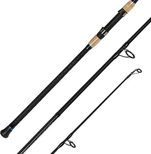 Fiblink 2-Piece Surf Spinning Fishing Rod Carbon Fiber Travel Fishing Rod 9-Feet 11-Feet 13- Feet