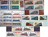 USSR stamps%2E 1978%2D1986 Trains Steam