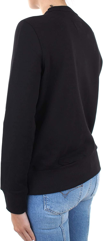 VERSACE JEANS COUTURE Felpa Versace in cotone Donna cod.B6HZA7TX Schwarz