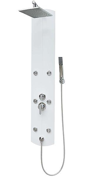 30cm//40cm Duscharmatur Thermostat Duschkopf Handbrause Regendusche Duschpanee