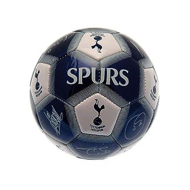 Tottenham Hotspur FC - Balón mini con firmas (Talla Única) (Azul ...