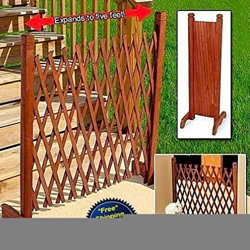 Review Expanding Portable Fence Wooden