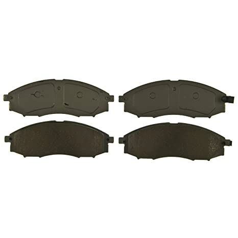 Disc Brake Pad Set-ThermoQuiet Disc Brake Pad Rear Wagner QC981