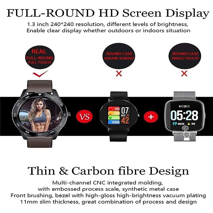 HIPERDEAL DT98 1.3inch IP68 Waterproof Full Touch Screen Sport ...