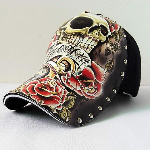 sdssup Gorra de béisbol ilustración cráneo Tatuaje patrón Original ...