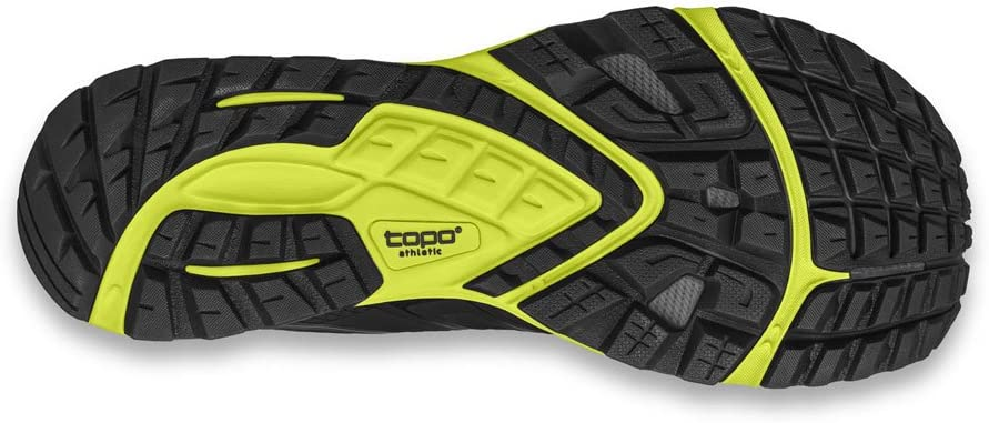 Topo Athletic Runventure 2 Running Shoes - Men's Bright Green/Black
