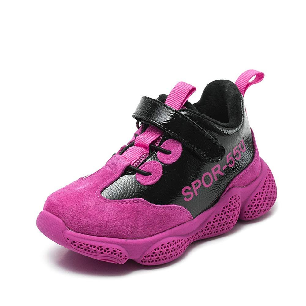 YSNJL Kids Athletic Running Shoes Strap Sport Sneakers