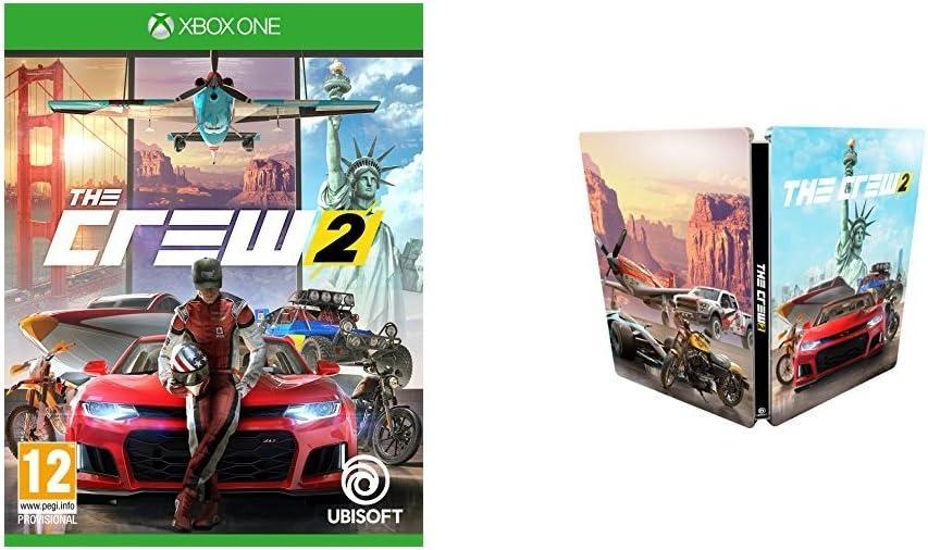 The Crew 2 + Steelbook - Xbox One [Importación inglesa]: Amazon.es ...