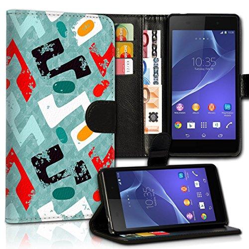Wallet Book Style Flip Handy Tasche Case Schutz Hülle Schale Motiv Etui für Apple iPhone 5 / 5S - Design Flip MVD208