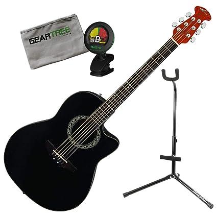 Ovation AB24A-4(versión 1) Aplausa Balladeer Guitarra acústica con ...