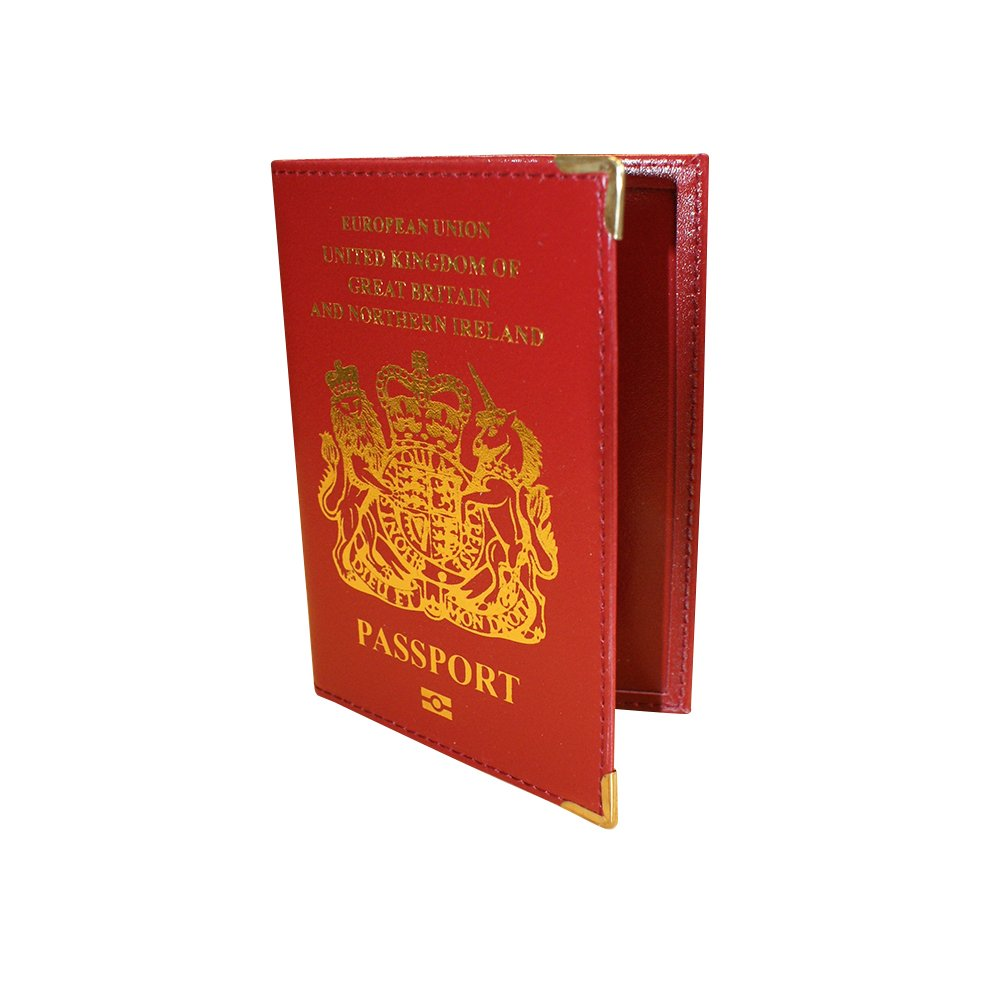 Red Boyz Toys Gone Travelling Passport Cover RY495