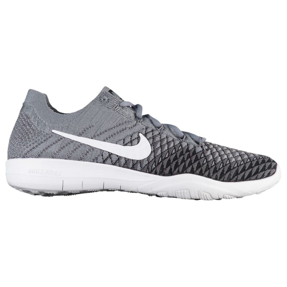 NIKE Free TR Flyknit 2 Womens Running Shoes B00F8LQNT8 7 B(M) US|Cool Grey/White-black