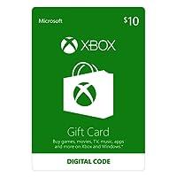 $10 Xbox Gift Card - [Digital Code]