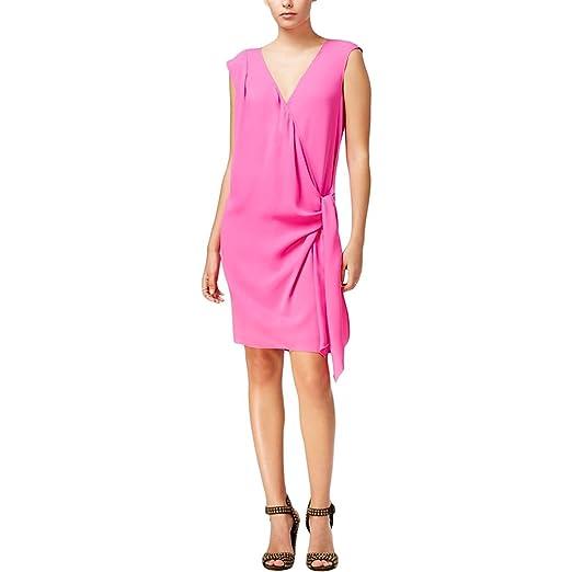70c0eeced1f0c RACHEL Rachel Roy Draped Faux-Wrap Party Dress at Amazon Women s ...