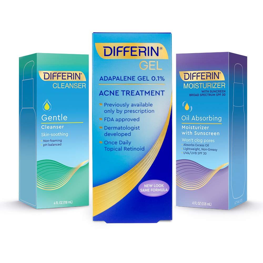Differin Regimen Kit, Clear Skin Set by Differin