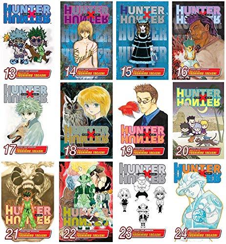 Hunter x Hunter Manga Set, Vol. 13-24