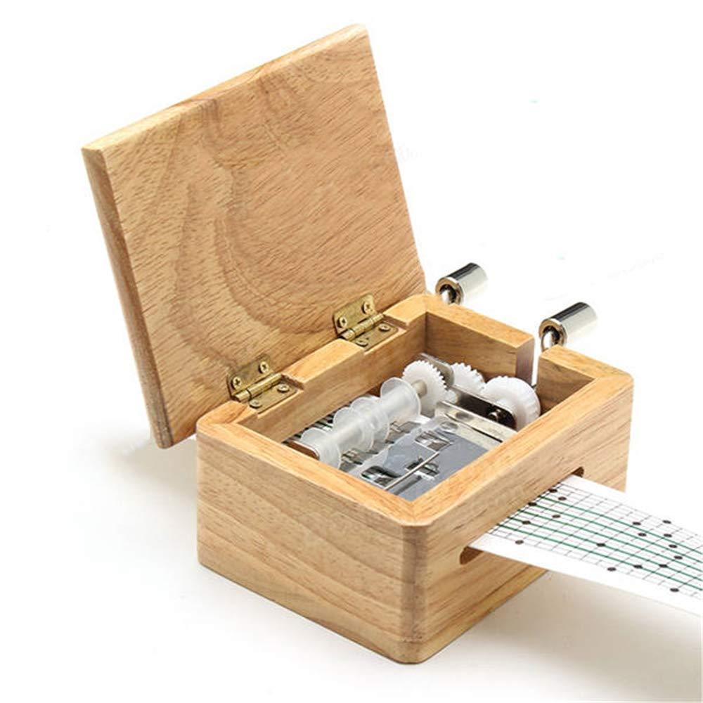 熱販売 Fokine 木製オルゴール、手回しアンティーク木製オルゴール、子供 Fokine、友人に B07G93QPNJ, CRAFT HOUSE:40712095 --- arcego.dominiotemporario.com