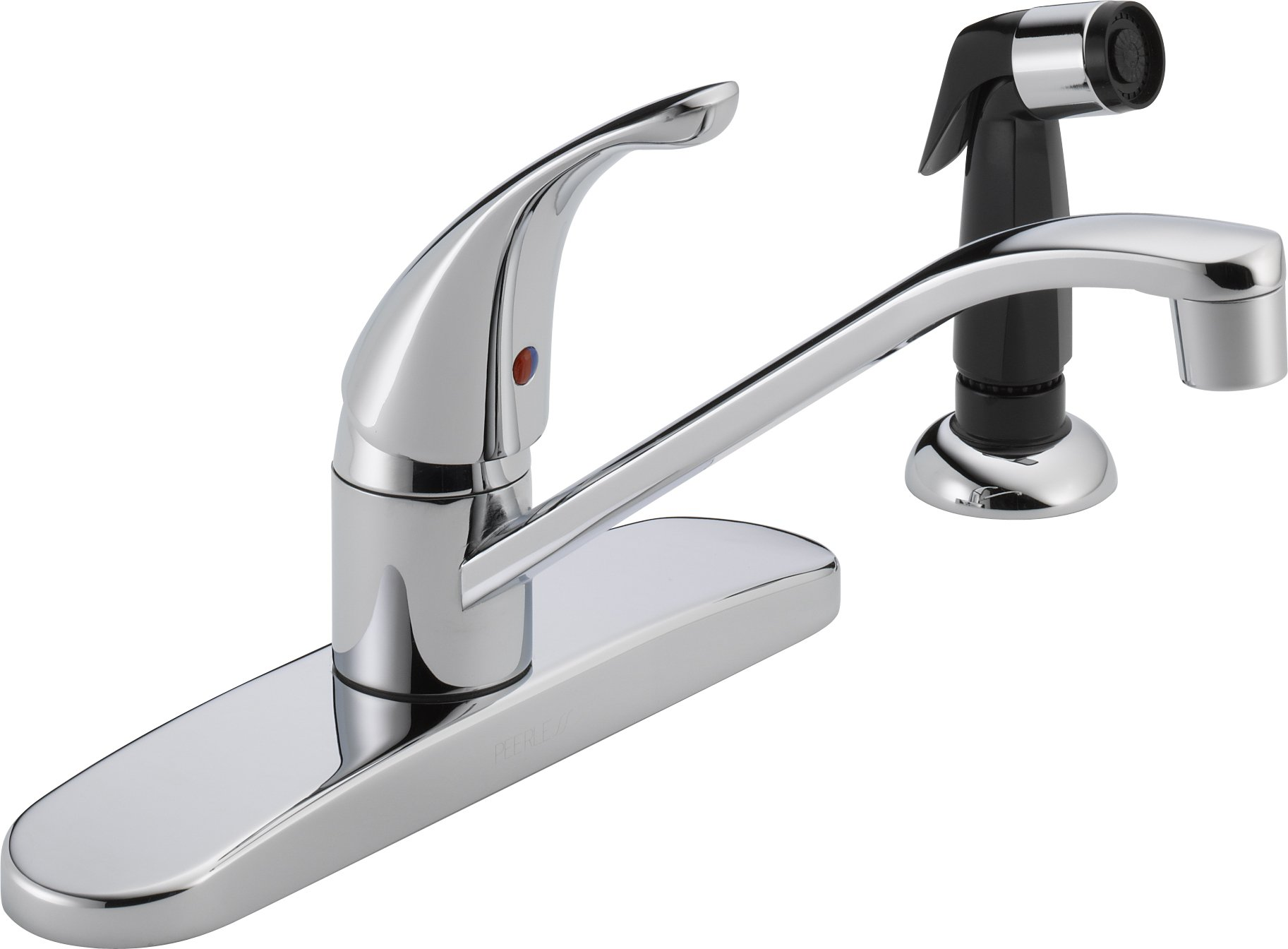 Peerless Single-Handle Kitchen Sink Faucet with Side Sprayer, Chrome P115LF by DELTA FAUCET