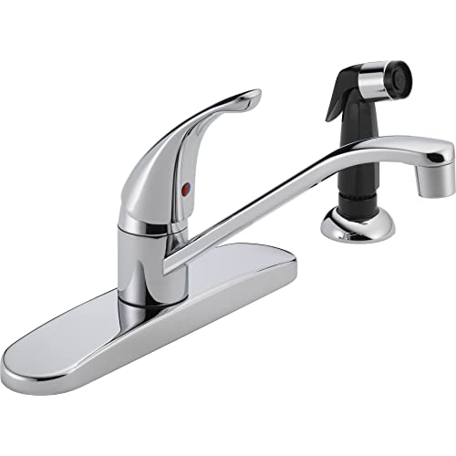 Delta Kitchen Faucets With Sprayer Amazon Com