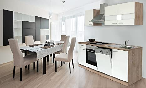 respekta KB220ESW - Cucina componibile americana, in rovere sonoma ...