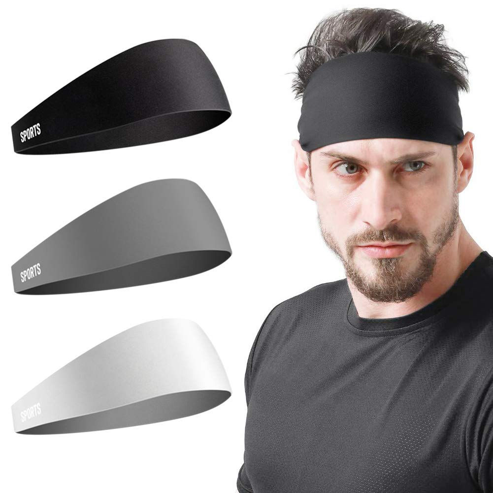 Vgogfly Moisture-Wicking Athletic Headbands