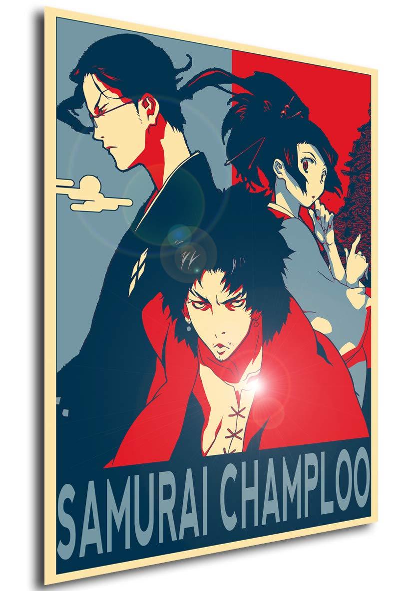 Instabuy Poster Propaganda - Samurai Champloo (Cartel 70x50 ...