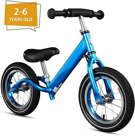 Luanda* Bicicletas sin Pedales 2-6 Años Bici Bebes Correpasillos Juguetes Regalos Bebé Bici sin Pedales Niño, Bicicleta Infantil de Equilibrio/Blue: Amazon.es: Deportes y aire libre