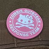 Zombie Outbreak Response Team Kitty Morale Patch PVC