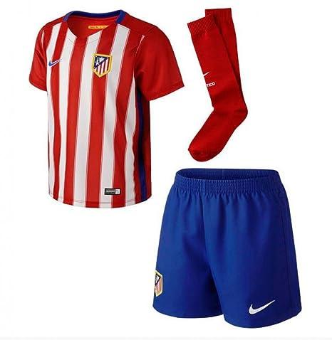 2015-2016 Atletico Madrid Home Nike Baby Kit: Amazon.es: Deportes ...
