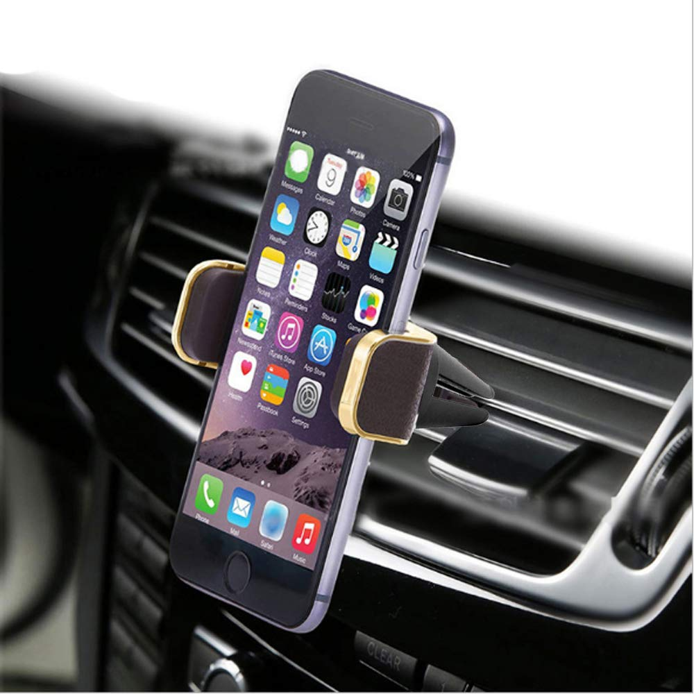 8 Silver 6S DREAM LIFE S7 Edge Galaxy S8 7 S7 6 Leather Car Mount,Luxury Premium Air Vent Phone Holder by BASEEING for All Smartphones /& iPhones with 360/°Rotation,Including iPhone X