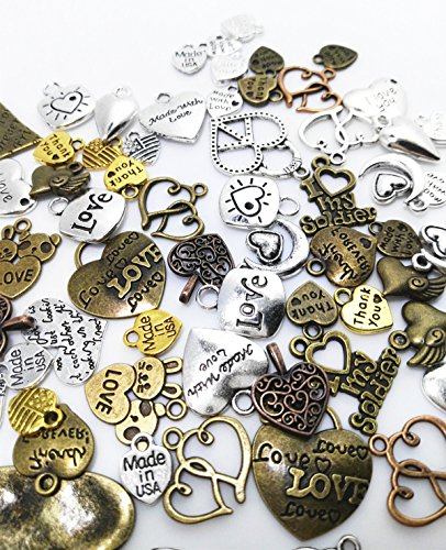 Metal Alloy Charms - 2