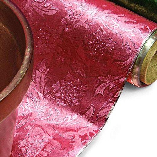 Pink Embossed Floral Foils 20